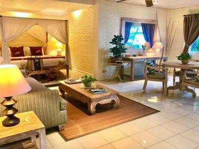 bali familien hotel zimmer wohnzimmer