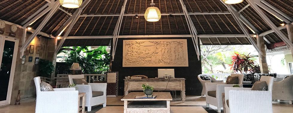 bali tauch resort lobby