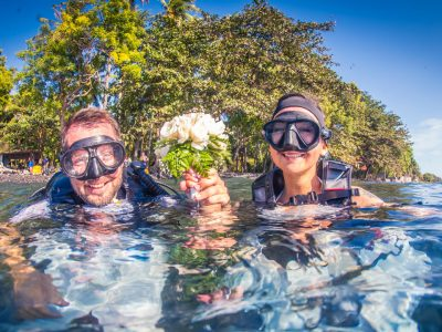bali dive resort wedding