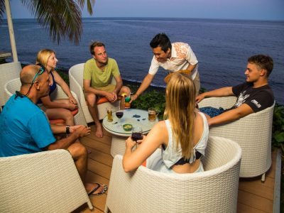 bali tulamben taucher resort lounge
