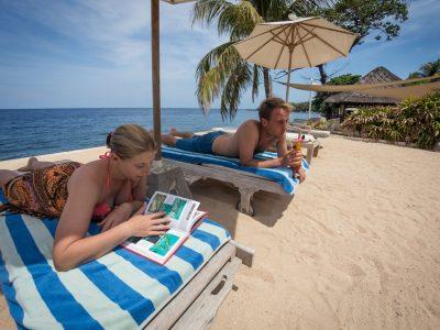 bali tulamben tauch resort haus strand